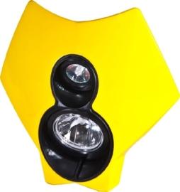 Trail Tech koplamp kit X2 70 watt halogeen geel