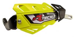 Rtech handkappen FLX aluminium neon geel zonder bevestiging set