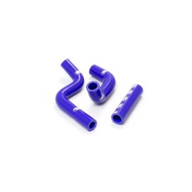 Samco radiator slangen set blauw voor de Kawasaki KX 80 1998-2000 & KX 85 2001-2013 & KX 100 1998-2013
