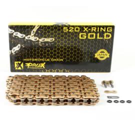 Prox X-Ring ketting goud 520 x 120 schakels