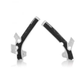 Acerbis X-Grip Framebeschermers + Grip wit/zwart KTM SX 85 2018-2019 & Husqvarna TC 85 2018-2019