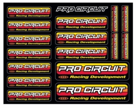 Pro Circuit sticker vel