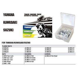 UFO hardware Track Racing Pack voor de Yamaha & Kawasaki & Suzuki