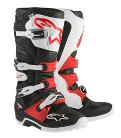 Alpinestars laarzen Tech 7 zwart/rood/wit