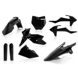 Acerbis zwart ( full kit ) plastic kit KTM SX 125/150 2016-2018 & SX 250 2017-2018 & SX-F 250/350/450 2016-2018