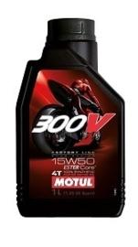 Motul synthetische 4 takt olie 300v 15W-50 1 liter