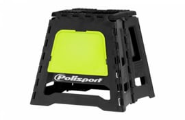 Polisport motorbok zwart/ fluor geel