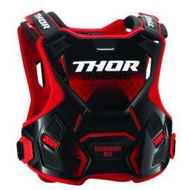 Thor 2019 Guardian MX bodyprotector Rood/Zwart