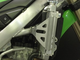 Works Connection Radiator Braces voor de Kawasaki KX 250F 2010-2016
