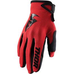 Thor MX handschoenen Sector Rood