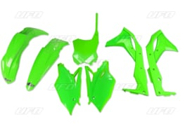 UFO neon groen plastic kit voor de KX 250F 2017