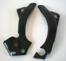 Pro Carbon frame beschermers Factory voor de KTM SX 125/150/250 2011-2015 & SX-F 250/350/450 2011-2015