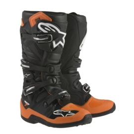 Alpinestars laarzen Tech 7 oranje/zwart/wit
