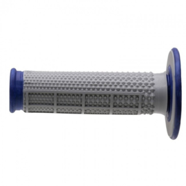 Renthal handvaten G162 blauwe grip duallayer Tapered half waffle diamond