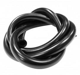 Raceline benzineslang 8x12mm 1 meter zwart