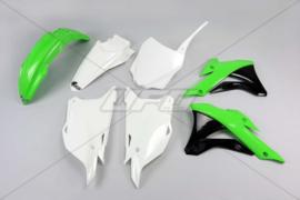 UFO plastic kit OEM ( 2016 ) voor Kawasaki KX 85 2014-2018