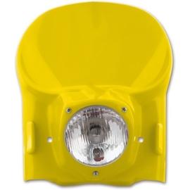 UFO Vintage universele koplamp kit geel