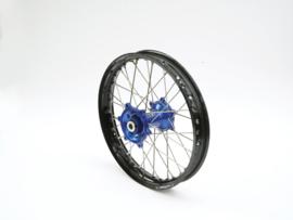 REX Wheels 18-2.15 compleet achterwiel zwarte velg met blauwe naaf 20MM Husqvarna TC 125/250 2014-2015 & FC 250/350/450 2014-2015 & TE 250/300 2014-2018 & FE 250/350/450/501 2014-2018
