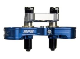 Neken kroonplaten set top SFS incl. stuurklemmen voor Kawasaki KX 450F 2014-2019