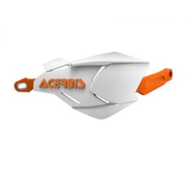 Acerbis handkappen X-Factory wit/oranje