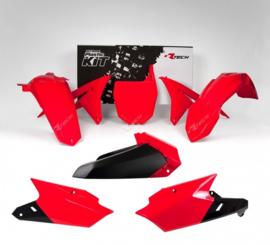 Rtech Plastic Kit rood Yamaha YZ 250F 2014-2018 & YZ 450F 2014-2017