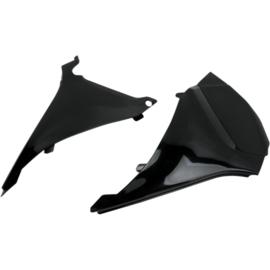 UFO airbox cover (set) voor de EXC 125/200/250/300/450/500 bj 12-13 & SX 125/150/250 bj 2011 kleur zwart