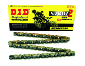 DID Ketting 520 DZ2 118 schakels goud/zwart
