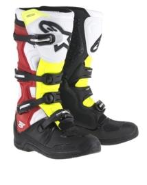 Alpinestars laarzen Tech 5 zwart/wit/rood/geel