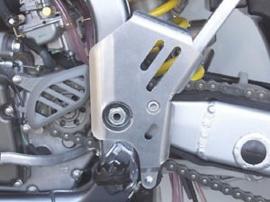 Works Connection Frame beschermers voor de Suzuki RM 250 2004-2009