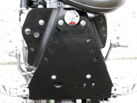 AXP blokbescherming GP zwart voor de Kawasaki KX 85 2006-2018