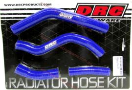 DRC radiator slangen set blauw voor de Yamaha YZ 250F 2014-2018