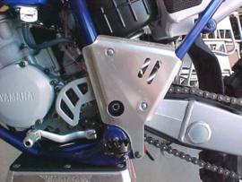 Works Connection frame beschermers voor de Yamaha YZ 125/250 2000-2001