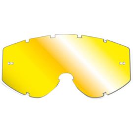 Pro Grip gele spiegellens voor progrip brillen zonder roll off voor Progrip 3303 Vista