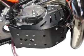 AXP Enduro blokbescherming zwart PHD KTM EXC 250/300 2017 & EXC TPI 250/300 2018-2019 & Husqvarna TE 250/300 2017 & TE 250i/300i 2018-2019