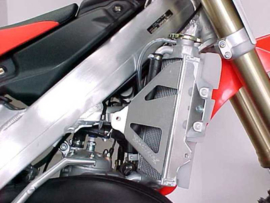 Works Connection Radiator Braces voor de Honda CR 250R 2005-2007