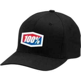 100% Solid Flex Fit pet Classic zwart