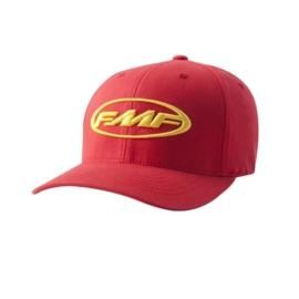FMF podium pet geel/rood