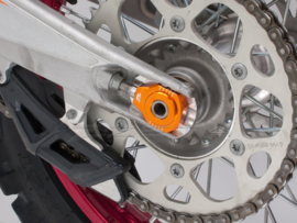 Zeta achteras blokken oranje voor de KTM SX 85 2003-2014 & SX/SX-F/XC/XC-F 125-450 tot 2012 & EXC/EXC-F/XC-F/XCF-W 125-530 2000-2019
