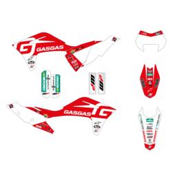 Blackbird Replica Trophy 2021 sticker set Gas Gas MC/MC-F/EC/EC-F 125/250/300/350/450 2021