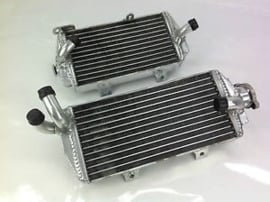 Big Radiators Set voor de KTM SX 125/150/250 2016-2018 & SX-F 250/350/450 2016-2018 & Husqvarna TC 125/250 2016-2018 & FC 250/350/450 2016-2018