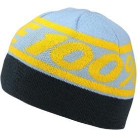 100% muts Rally blauw/geel