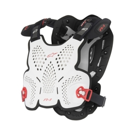 Alpinestars A-1 Roost bodyprotector wit