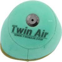 TwinAir luchtfilter Bio Ingeolied Fire Resistant voor powerflow kit 153221C Suzuki RM-Z 250 2019 & RM-Z 450 2018-2019