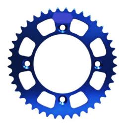 MINO achtertandwiel Aluminium blauw KTM SX 50 2014-2018 & Husqvarna TC 50 2017-2019