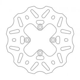 Moto-Master achterrem schijf Nitro 160mm KTM SX 65 2000-heden & Husqvarna TC 65 2017-heden