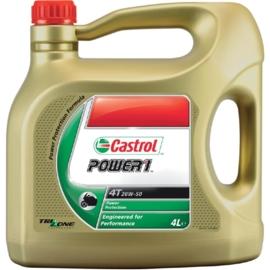 Castrol motorolie Power 1 Racing 4T 20W-50 4 liter