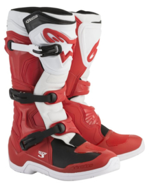 Alpinestars Tech 3 2018 crosslaarzen rood/wit