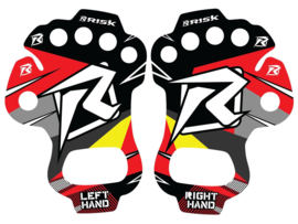 Risk Racing Handpalm bescherming in de maten S/M en L/XL