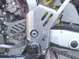 Works Connection frame beschermers voor de Suzuki RMZ 250 2006