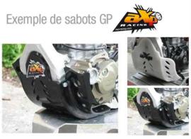 AXP GP blokbescherming HDPE zwart KTM SX 250 2014-2016